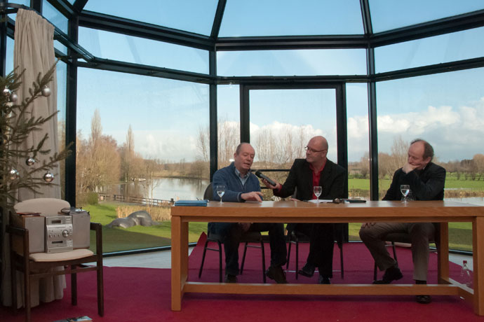December 2011 : Jan Briers en Bertrand Flamang
