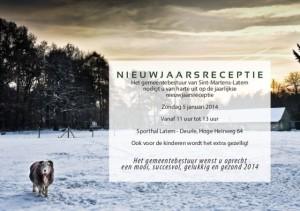 uitnodiging nieuwjaarsreceptiew